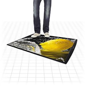 Floor Graphic Poster