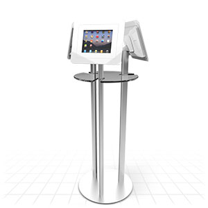 Poseur Table 2 iPad Display Stand