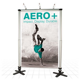 Low cost modular display stand