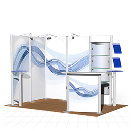 Premium self-build portable modular stands