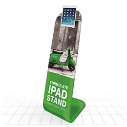 Fabric iPad stand, feel the difference