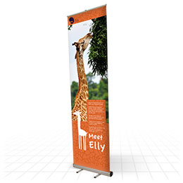 Giant banner, tiny price