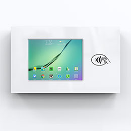 Wall Mounted Secure Tablet Enclosure