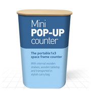 Mini Pop Up Counter