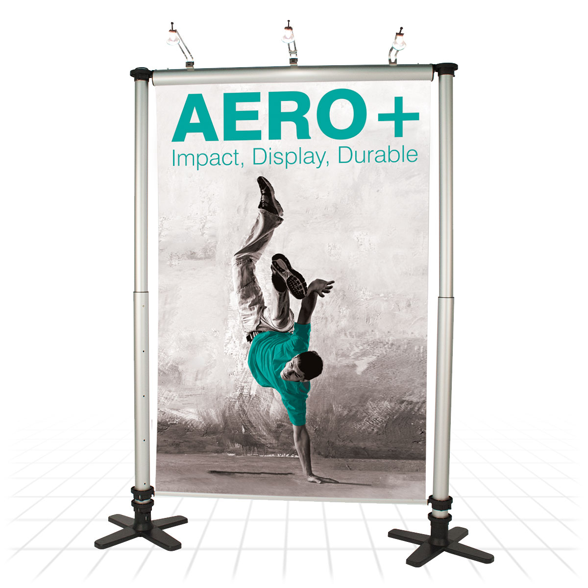 Small Exhibition Stand Quotes : Aero linkable banner stands