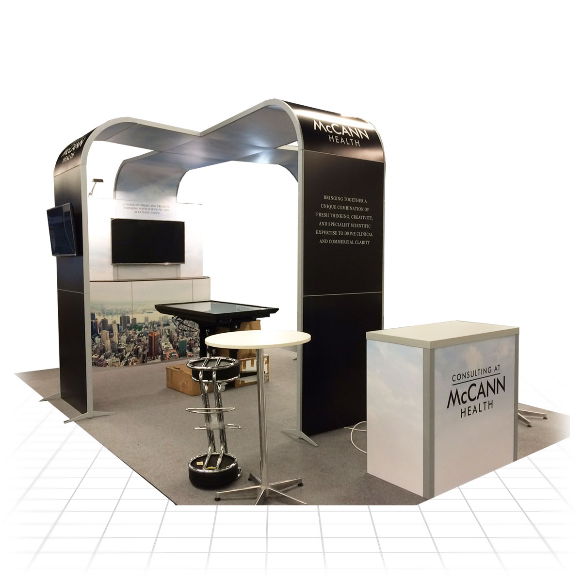 Small Modular Exhibition Stands : Clever frame modular exhibition stands