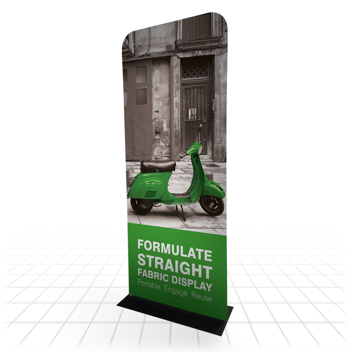 Formulate Straight Banner | Formulate Banners