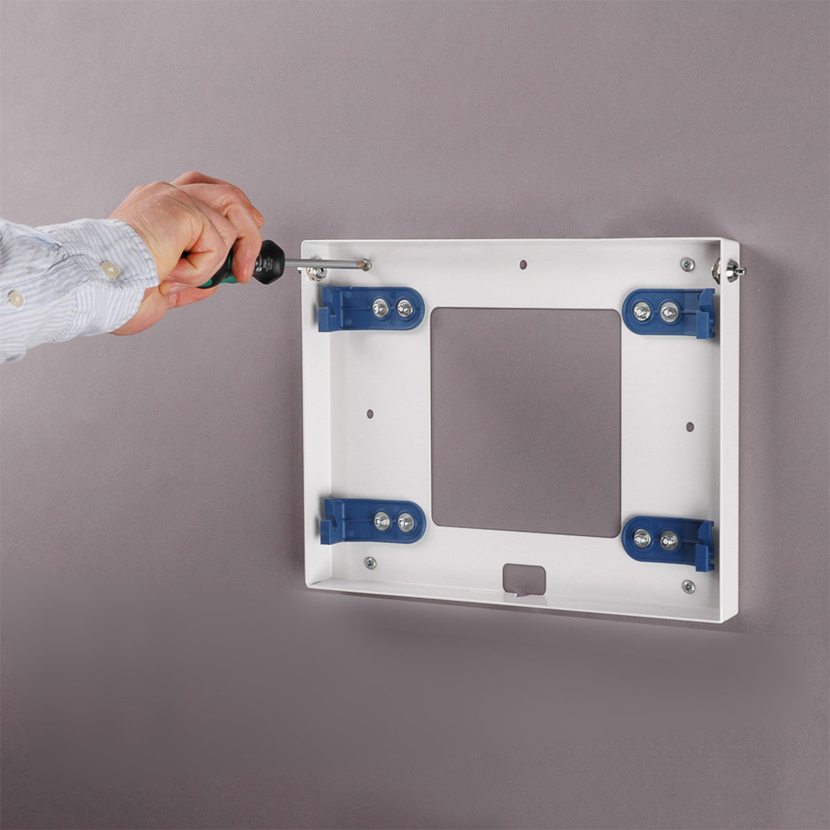 Tablet Slimline Wall Mounted Secure Tablet Enclosure