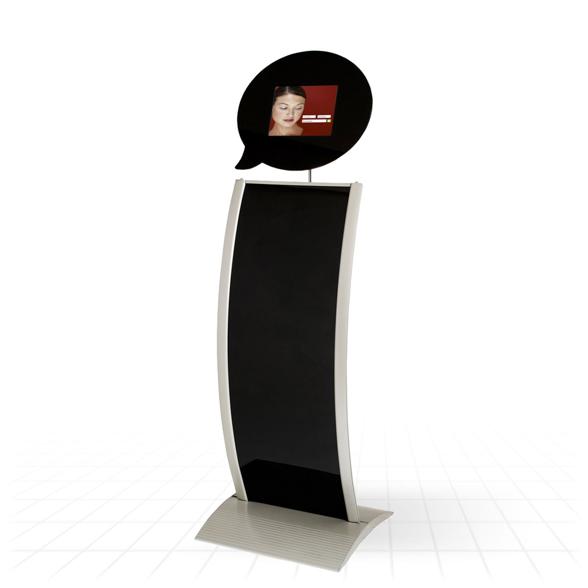 Exhibition Stand Kiosk : Kiosk tablet display stand stands
