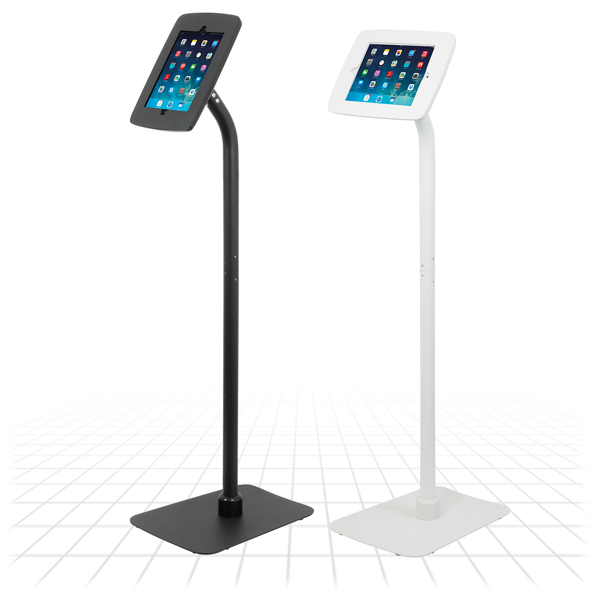 Zeus Exhibition Stand : Launchpad tablet stand display stands