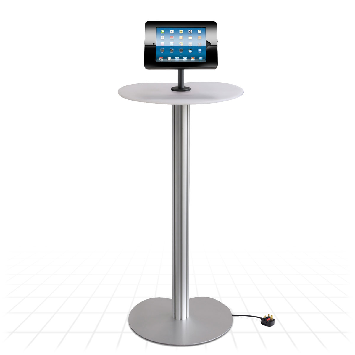 Exhibition Stand With Shelves : Podium ipad display stand tablet stands