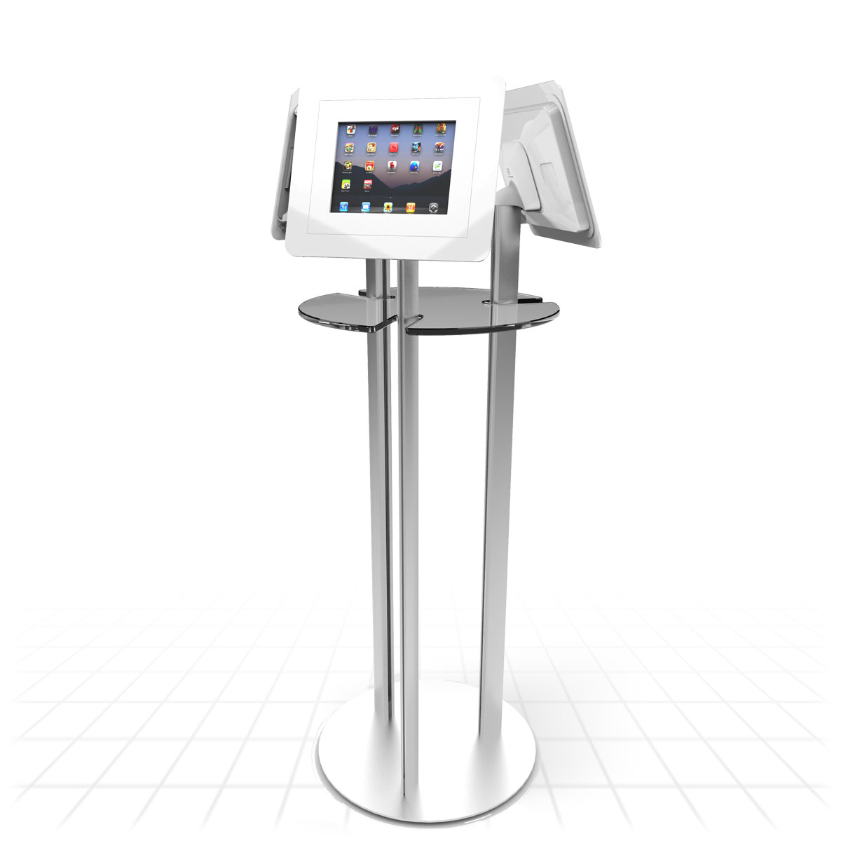 Exhibition Display Stands : Poseur table tablet display stand stands