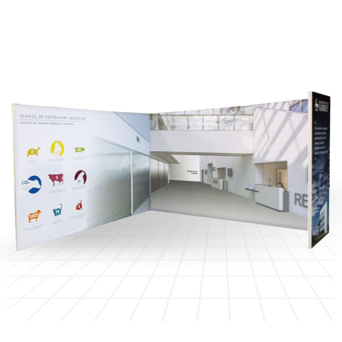 Stretch Fabric Exhibition Stands : Stretch modular exhibition stands