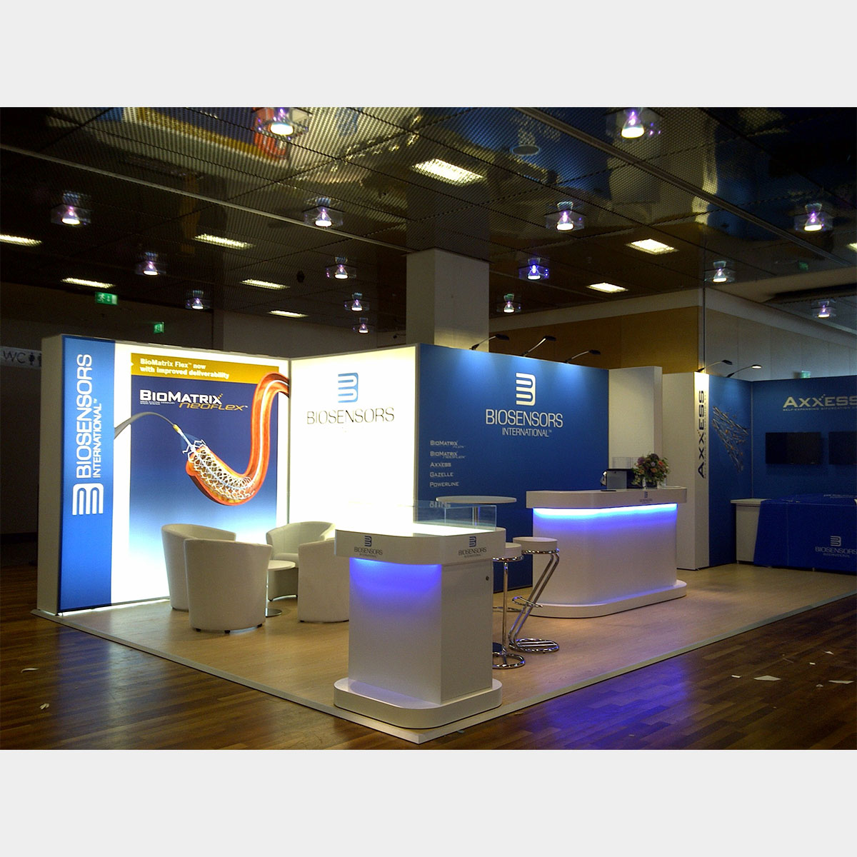 Kubik Exhibition Stand View : T modular exhibition stands