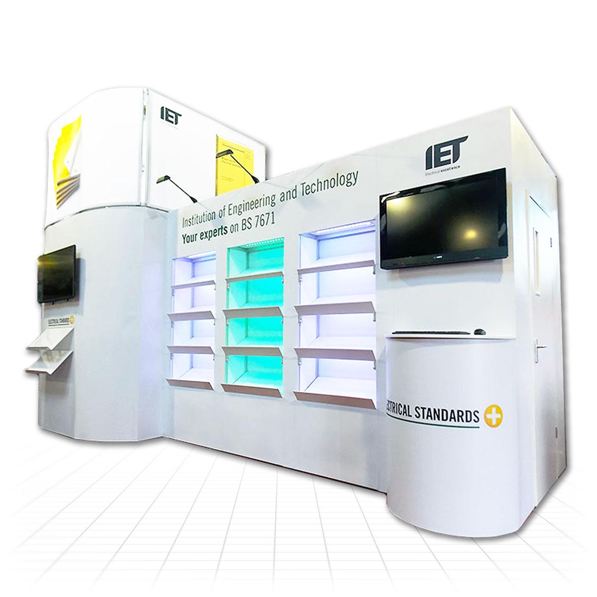 Zeus Exhibition Stand : Modular exhibition stands advanced build