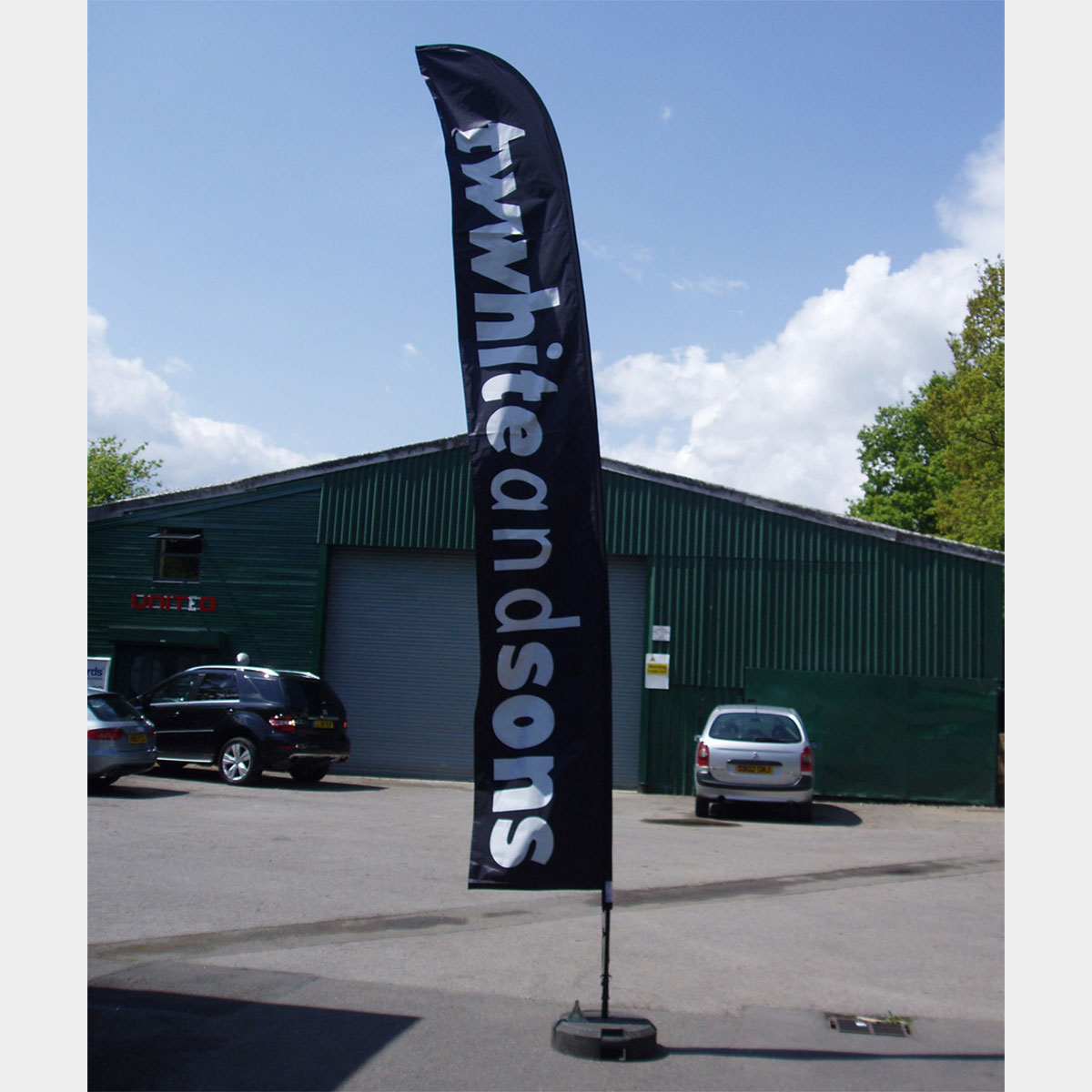 wing banners supersized sail banners. Black Bedroom Furniture Sets. Home Design Ideas