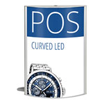 Curved LED Lightbox (Portrait)