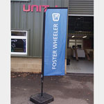 Feather Banner [Foster and Wheeler]