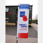 Feather Banner [Royal British Legion]