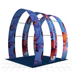 Fabric arches, big, bold, incredibly light