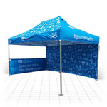 Branded Gazebos range of sizes