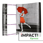 Impact Xpress entry level pop up display system