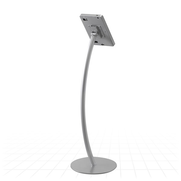 Curve iPad Display Stand [Rear View]