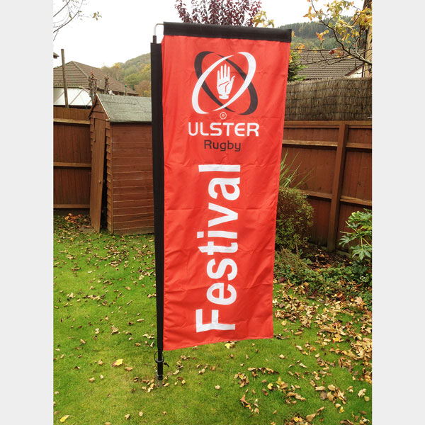 Feather Banner [Ulster Rugby]