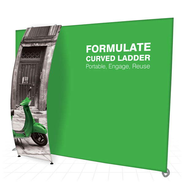 Formulate Curved Ladder