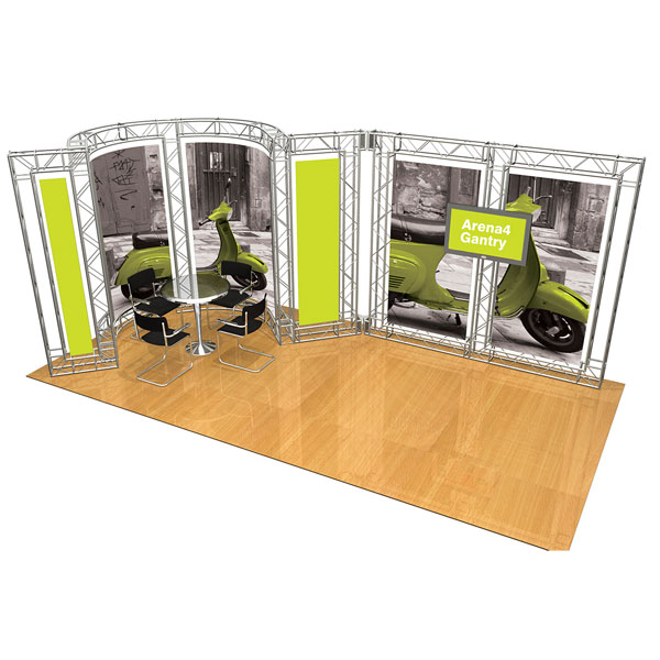 Modular Exhibition Stands Zero : Gantry modular exhibition stands