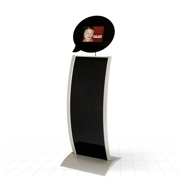 Kiosk Tablet Display Stand [Speech Bubble]