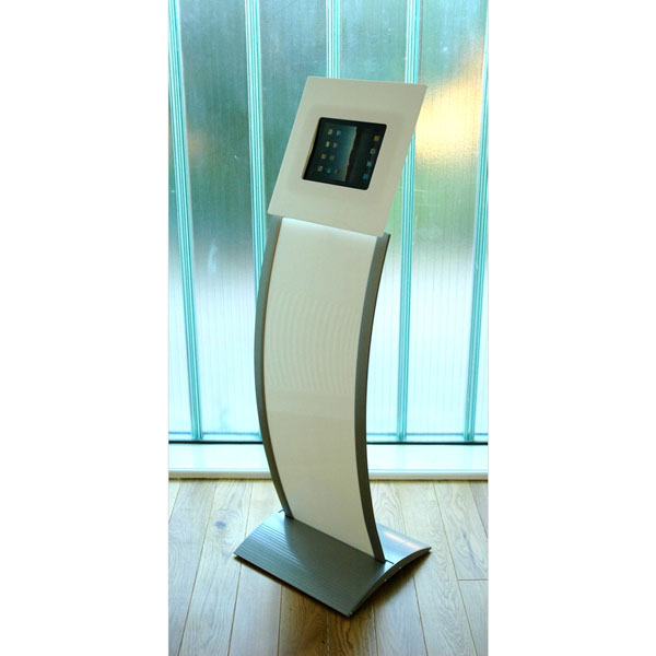 Kiosk Tablet Display Stand [White]