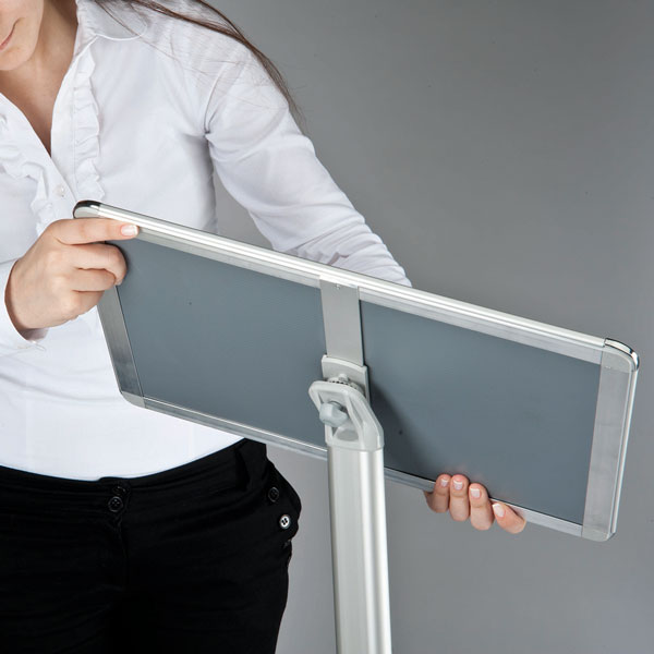 Sign Holder 1 (Adjustable Panel)