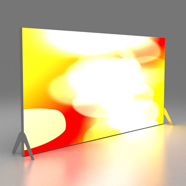 Stretch Freestanding [Straight 4m Backlit]