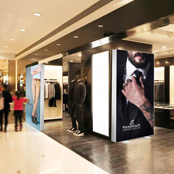 Vector LED Backlit (Retail Environment)